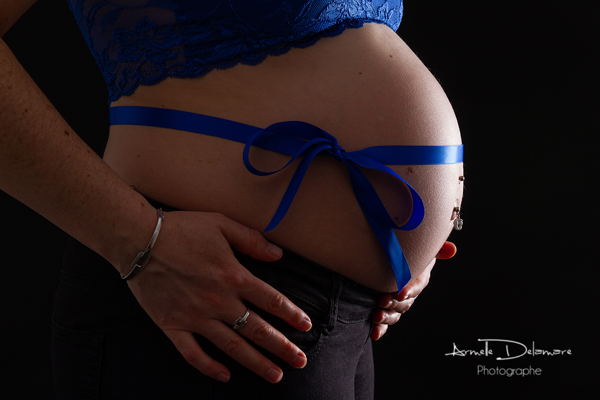 Armelle Delamare Photographe Pavilly Photographie séance photo femme enceinte