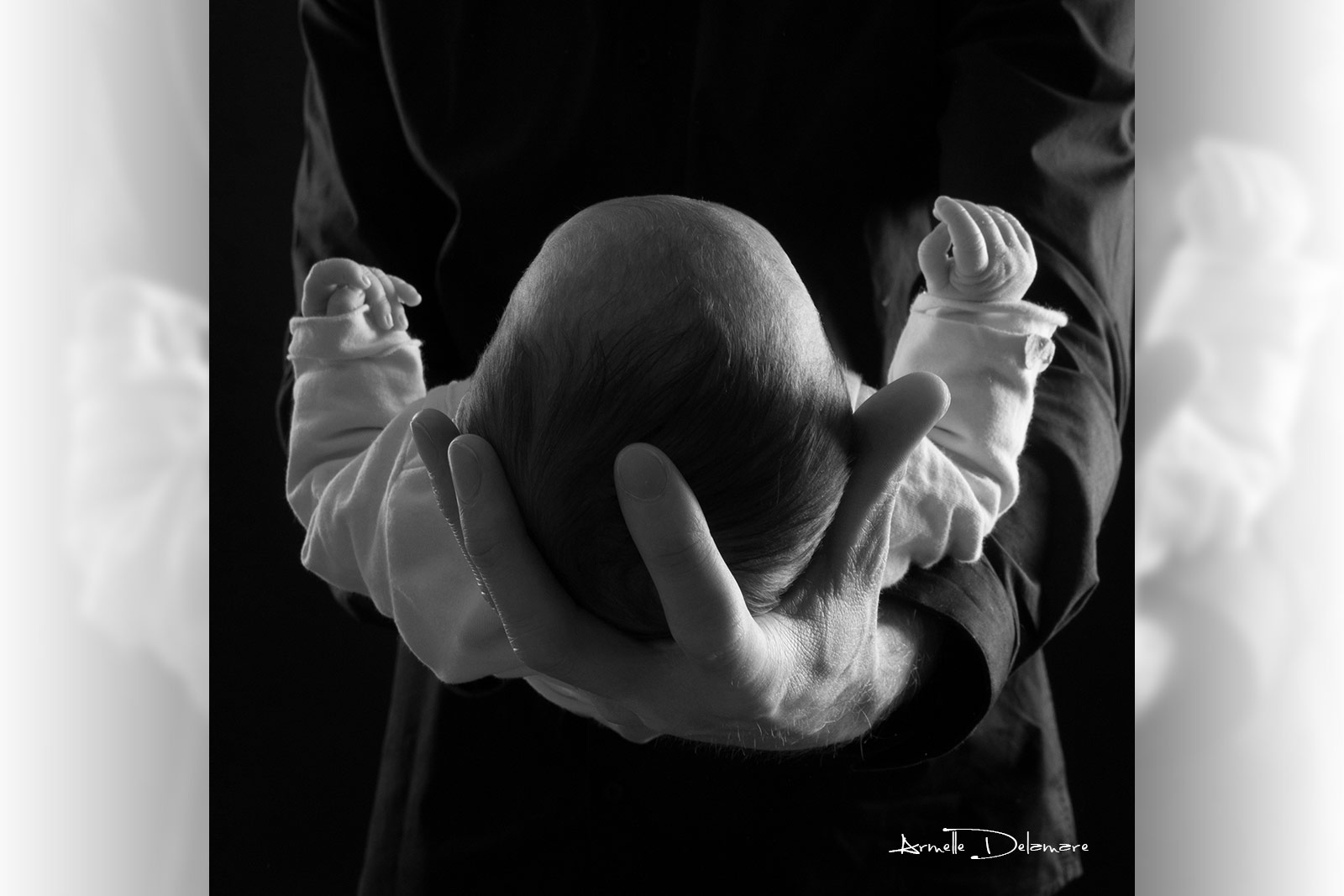 Armelle Delamare Photographe Pavilly Photographie séance photo bébé naissance